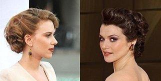 Ünlülerden en güzel topuz saç modelleri