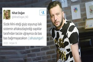 Nihat Doğan'a Özgecan tweetlerinden takipsizlik!